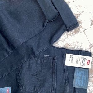 Mid Rise Classic Straight Levi Jeans